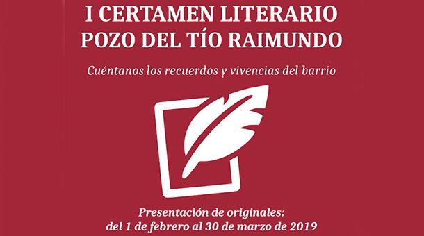 I edición del Certamen Literario Pozo del Tío Raimundo