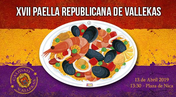 XVII Paella Republicana de Vallekas - 13 de Abril 2019