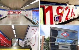 La estación de Portazgo mejora su accesibilidad y renueva su imagen con toque rayista