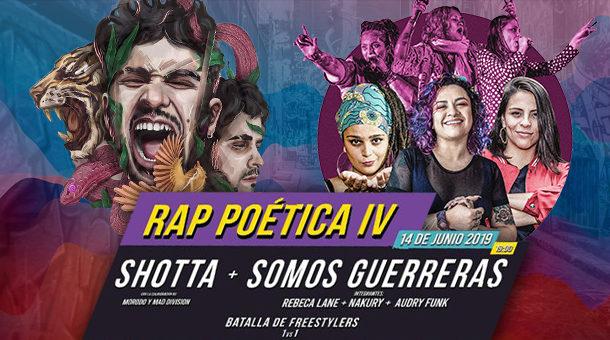 IV Edición del 'Rap Poética' en Entrevías: Shotta, Somos Guerreras y Batalla de Freestylers 1vs1